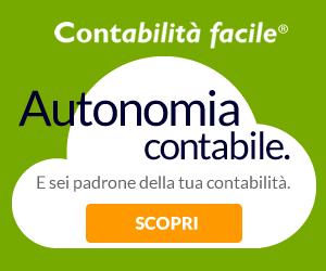 Contabilità facile online banner