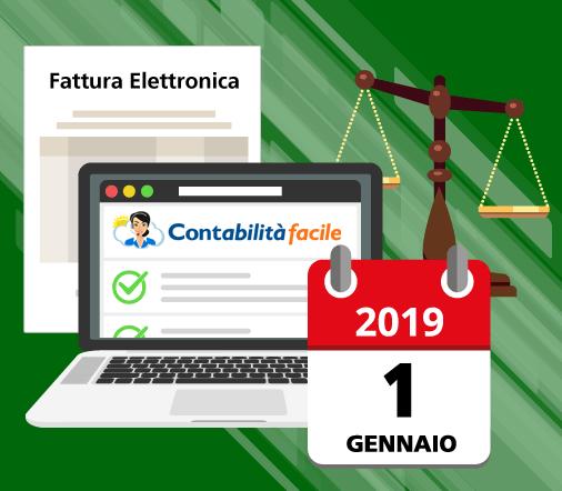 Fattura Elettronica B2B obbligatoria dal 01-01-2019: Cosa fare.